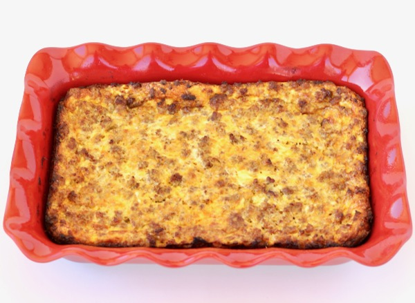 Sausage and Egg Casserole Recipe Overnight
