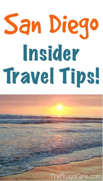 San Diego Insider Travel Tips
