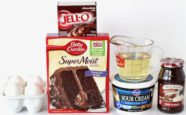 Slow Cooker Lava Cake
