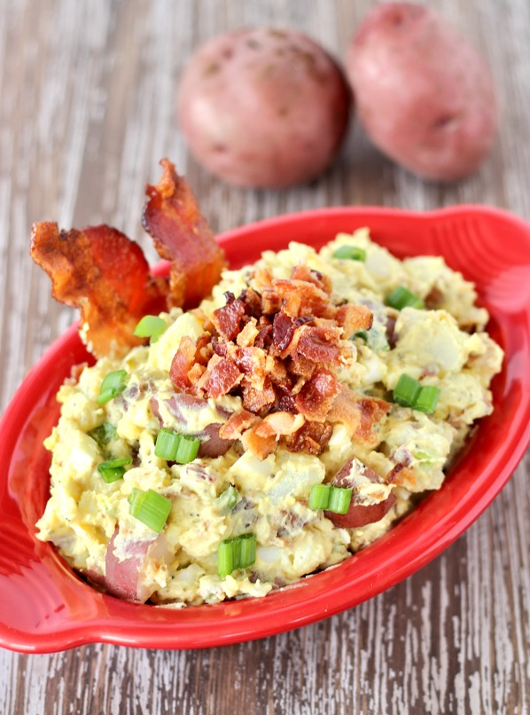 Bacon Lover's Red Potato Salad Recipe Easy