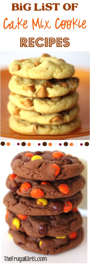 Delicious Cookie Recipes from TheFrugalGirls.com