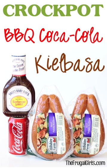Crockpot Barbecue Coca-Cola Kielbasa Recipe from TheFrugalGirls.com
