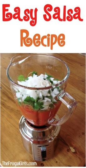 Easy Salsa Recipe