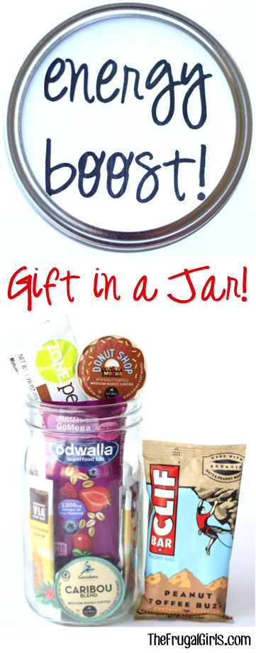 Energy Boost Gift in a Jar