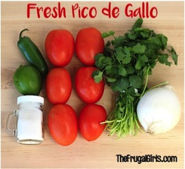 Fresh Pico de Gallo Salsa Recipe