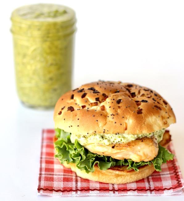 Pesto Chicken Sandwich Recipe