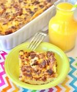 Bacon Egg Breakfast Casserole Recipe