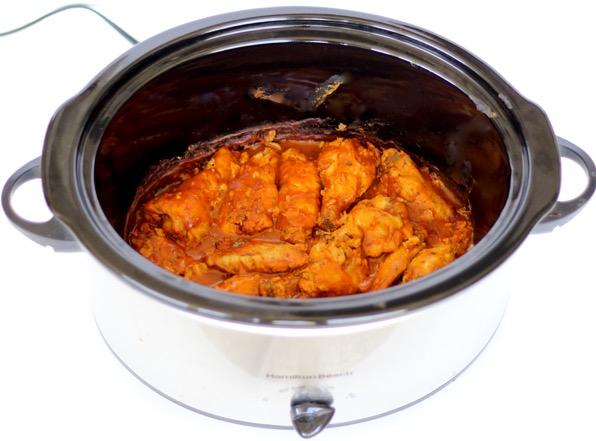 Buffalo Ranch Chicken Wings Crock Pot Recipe