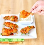 Crockpot Buffalo Ranch Chicken Wings Recipe