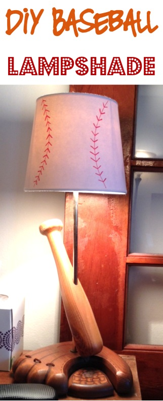 Baseball Lampshade