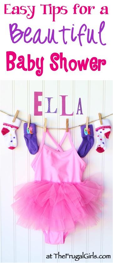Best Baby Shower Ideas from TheFrugalGirls.com
