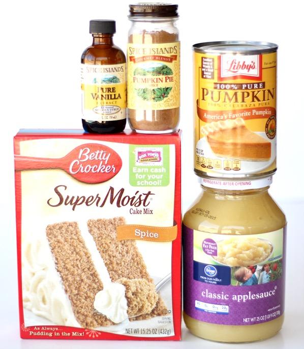 Pumpkin Cake Mix Muffin Recipe