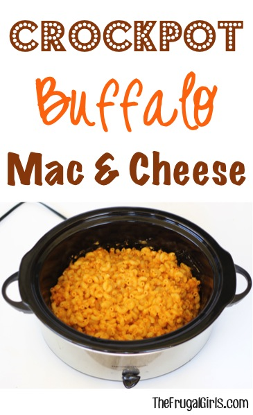 Crockpot Buffalo Mac and Cheese Recipe from TheFrugalGirls.com