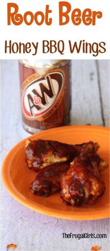 Crockpot Honey BBQ Wings