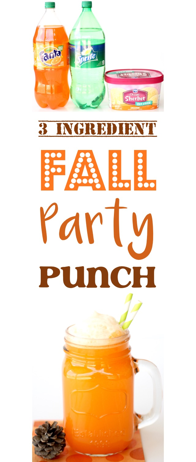 Orange Fall Party Punch Easy Recipe
