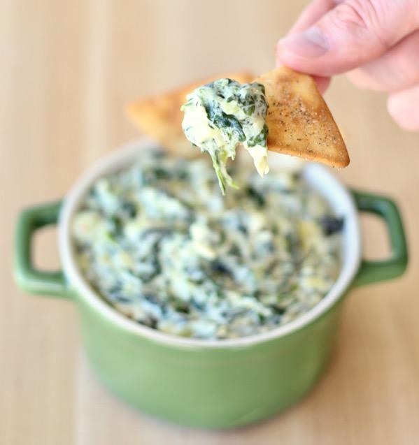 Crockpot Spinach Artichoke Dip Recipe