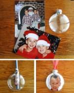 DIY Photo Ornament