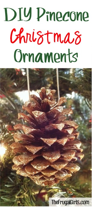 Pine Cone Ornaments from TheFrugalGirls.com