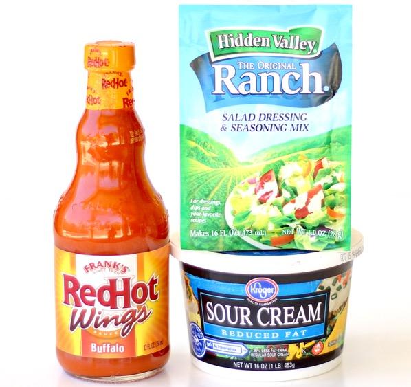 Buffalo Ranch Dipping Sauce