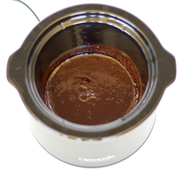 Crockpot Chocolate Fondue