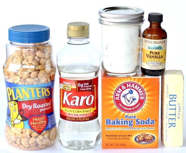 Easy Nut Brittle Recipe