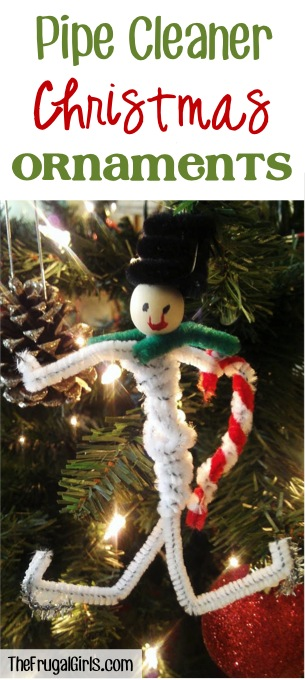 Pipe Cleaner Ornaments from TheFrugalGirls.com