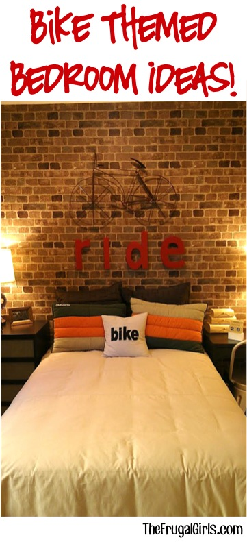 Bike Theme Bedroom Ideas