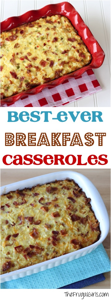 Best Breakfast Casserole Recipes from TheFrugalGirls.com