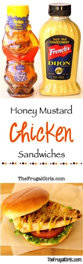 Honey Mustard Grilled Chicken Sandwich