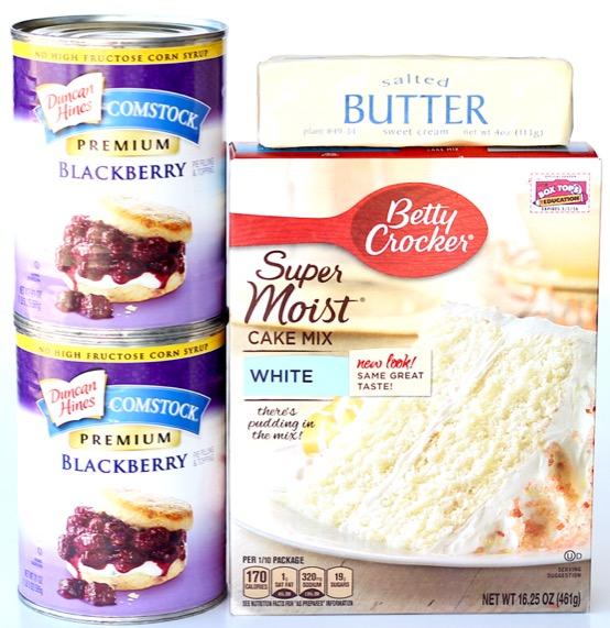 Slow Cooker Blackberry Dump Cake Recipe