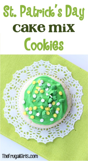 St Patricks Day Cookies from TheFrugalGirls.com