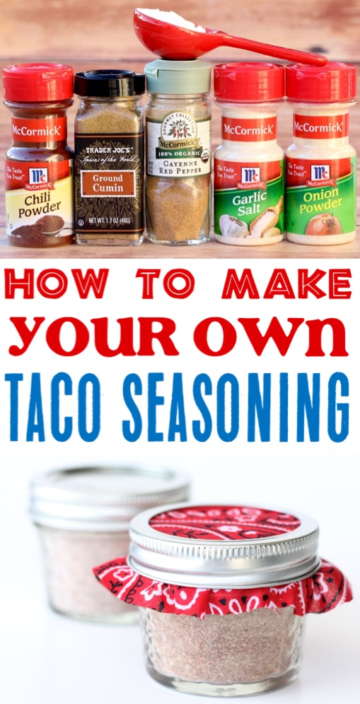 Taco Seasoning Recipe Homemade Easy DIY Mix to Take Your Tacos to the Next Level