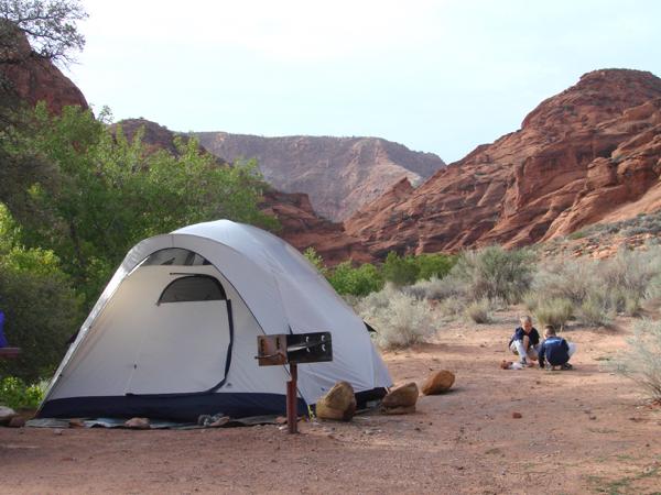 Red Cliffs Campground Utah | TheFrugalGirls.com