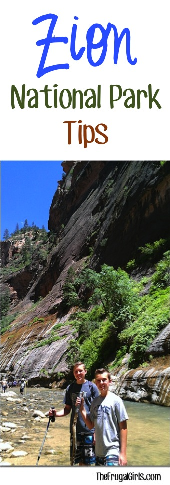 Zion National Park Travel Tips at TheFrugalGirls.com
