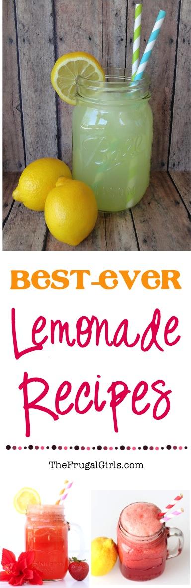 Best Lemonade Recipes from TheFrugalGirls.com