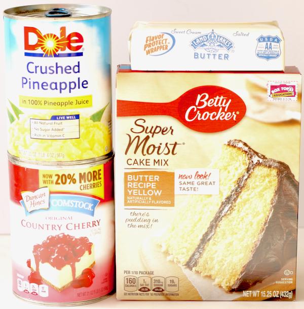 Crock Pot Pineapple Dump Cake