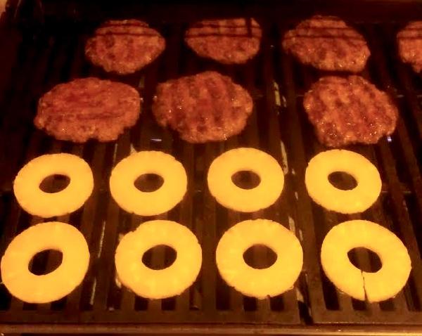 Hawaiian Teriyaki Burger Recipe