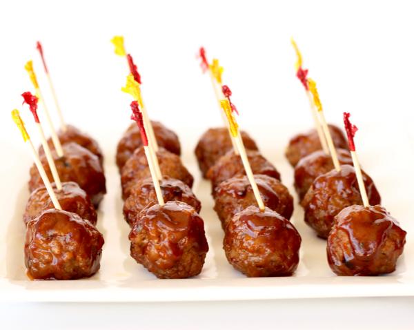 Crockpot Barbecue Meatballs Recipe
