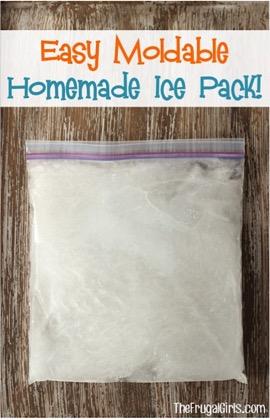 Easy Homemade Ice Pack