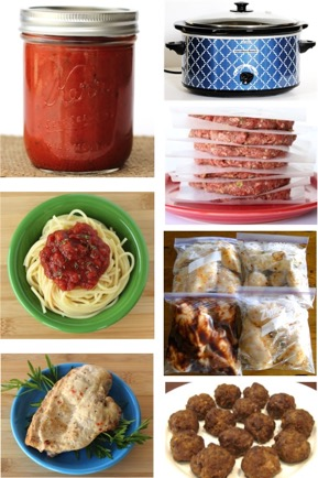 Freezer Friendly Meals and Recipes