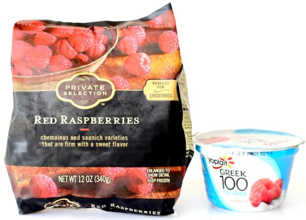 Raspberry Smoothie Recipe with Yogurt