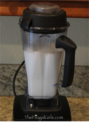 Best Way to Clean a Blender - tip at TheFrugalGirls.com