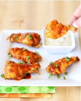 10 Crockpot Chicken Wing Recipes from TheFrugalGirls.com
