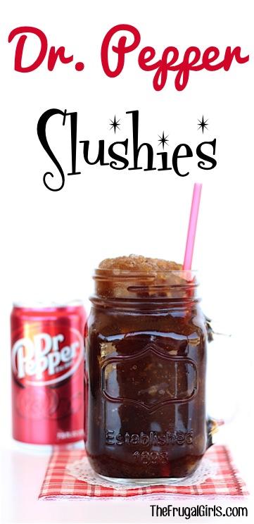 Dr. Pepper Slush Recipe - from TheFrugalGirls.com