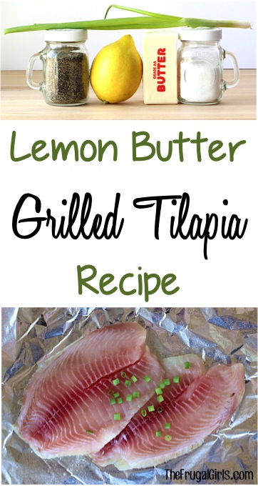 Grilled Tilapia Recipe at TheFrugalGirls.com