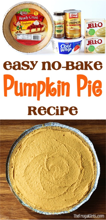 Best No Bake Pumpkin Pie Recipe - TheFrugalGirls.com