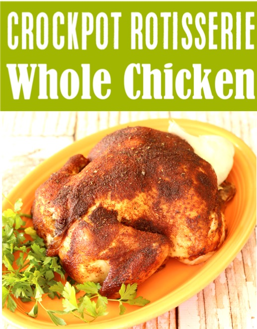 Crockpot Whole Chicken Recipes Easy Rotisserie Style Chicken Recipe