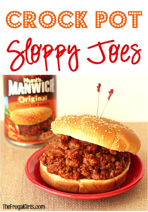 Crock Pot Sloppy Joes from TheFrugalGirls.com #shop
