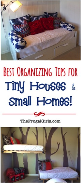 Best Organizing Tips for Tiny Houses and Small Homes