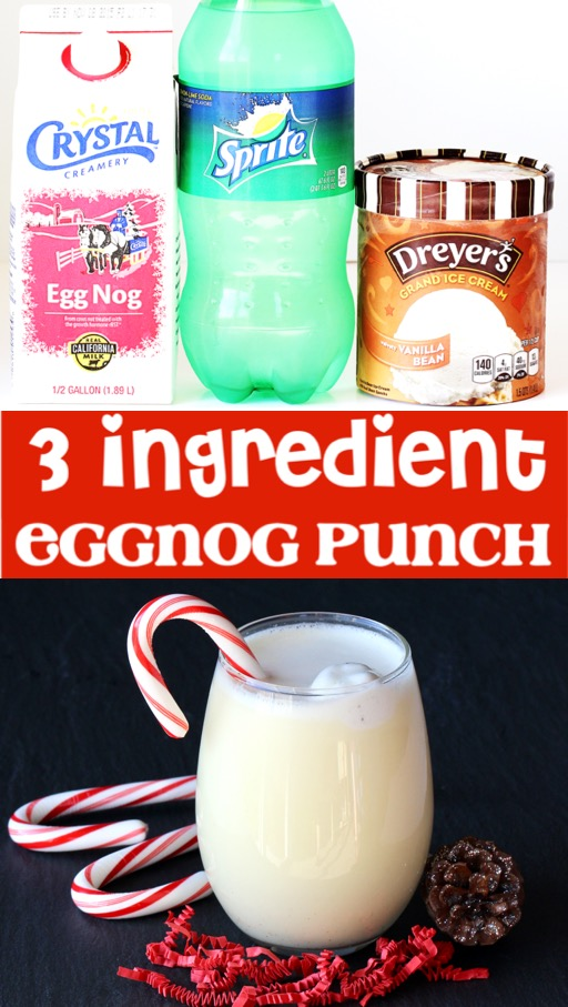 Christmas Breakfast Recipes and Ideas for Kids - Easy Eggnog Punch